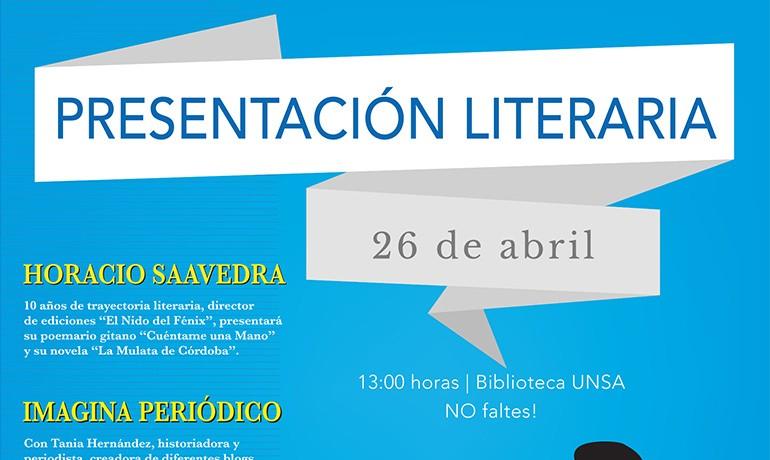 UNSA - Presentacion Literaria