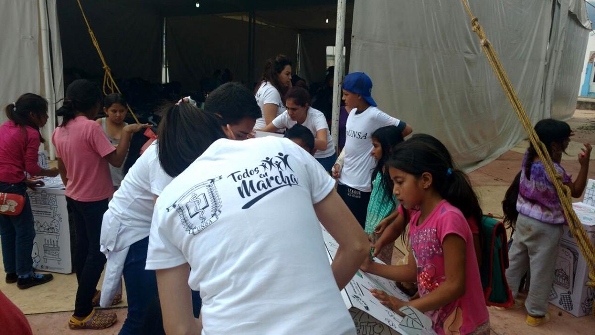 UNSA - Jornada Médica en Ocuilan