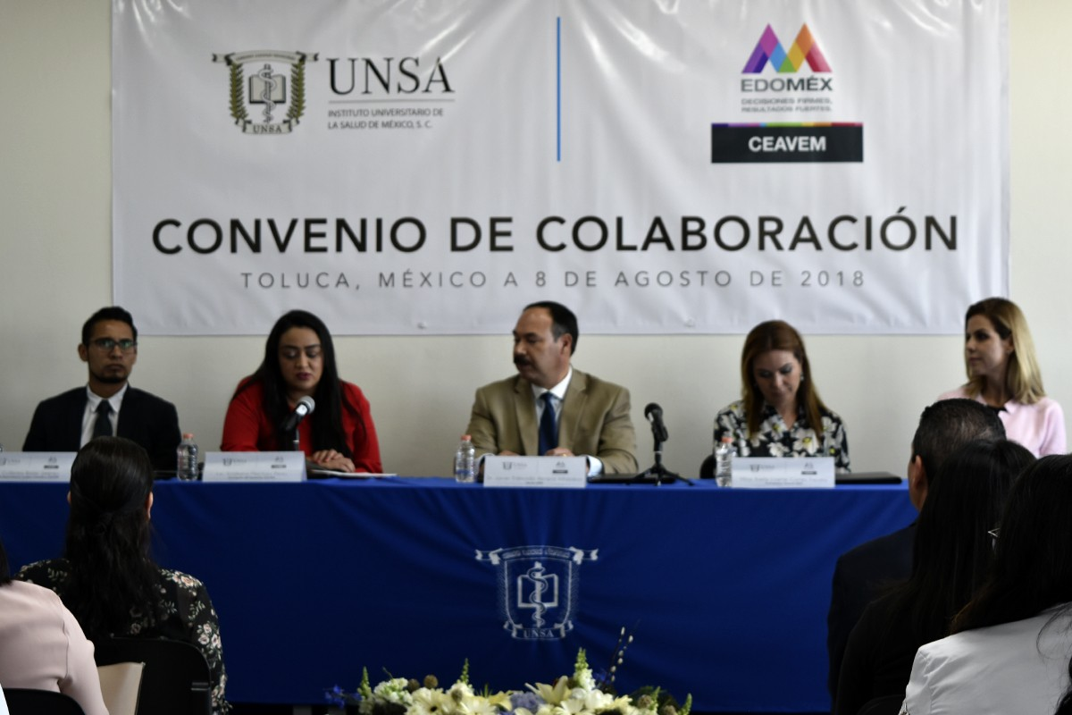 UNSA - Firma de Convenio CEAVEM