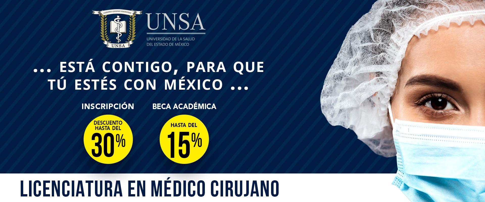 UNSA - Licenciatura en Médico Cirujano